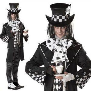 Dark Mad Hatter Sz L 42-44 Halloween costume